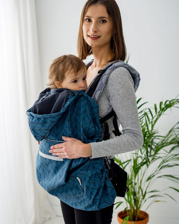 Kavka Baby Cover – Osłonka Petrol Braid Softshell