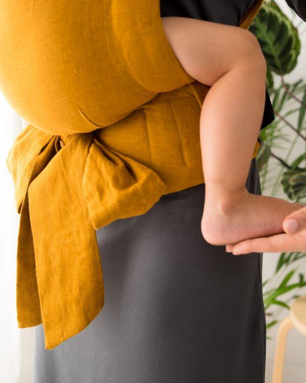 Kavka Handy – nosidełko regulowane Amber Linen