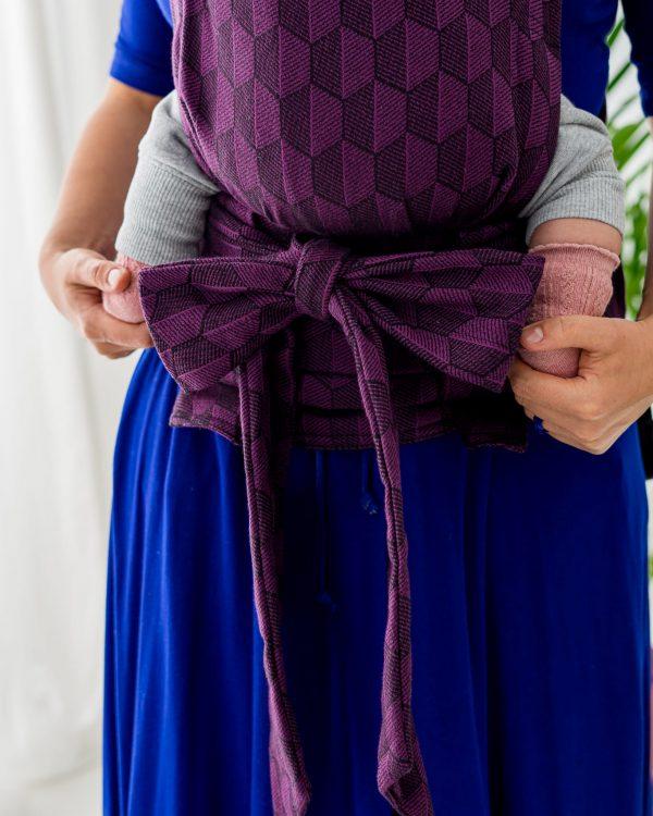 Kavka Handy – nosidełko regulowane Aubergine Shade